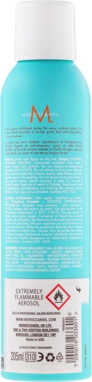 Suchý textúrový sprej na vlasy - Moroccanoil Dry Texture Spray — Obrázky N2