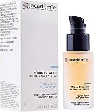 """Voňavky, Parfémy, kozmetika Marhuľový sérum """"8 hodín lesku"""" - Academie 8h Radiance Serum"""