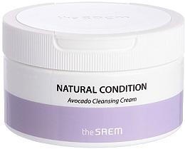 Voňavky, Parfémy, kozmetika Čistiaci krém na tvár s avokádom - The Saem Natural Condition Avocado Cleansing Cream