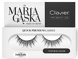 Voňavky, Parfémy, kozmetika Falošné mihalnice - Clavier Quick Premium Lashes Daily Lady 813