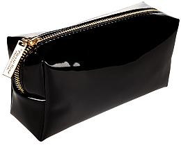 Voňavky, Parfémy, kozmetika Kozmetická taška, čierna so zlatým zipsom - Pierre Rene Professional