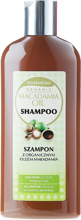Šampón s makadamovým olejom a keratínom - GlySkinCare Macadamia Oil Shampoo