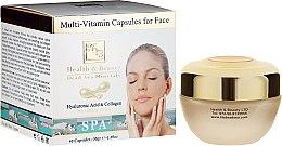 Voňavky, Parfémy, kozmetika Multivitamínové kapsuly na starostlivosť o pleť tváre - Health And Beauty Multi-Vitamin Capsules For Face