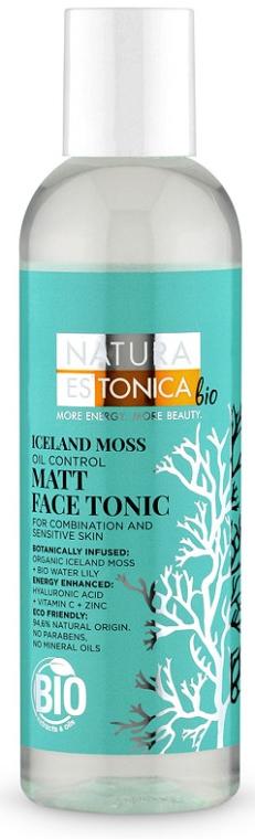 Tonikum na tvár matný Islandský mach - Natura Estonica Iceland Moss Face Tonic