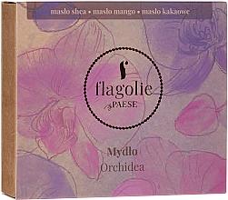 """Voňavky, Parfémy, kozmetika Prírodné mydlo na ruky a telo """"Orchidea"""" - Flagolie by Paese Cranberry"""