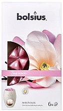 """Voňavky, Parfémy, kozmetika Vonný vosk """"Magnólia"""" - Bolsius True Scents Magnolia"""