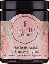 """Voňavky, Parfémy, kozmetika Maslo na telo """"Citrusová záhrada"""" - Flagolie by Paese Citrus Garden"""