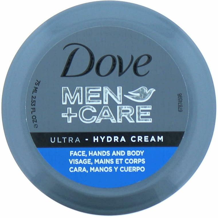 Krém na tvár, ruky a telo - Dove Men + Care Ultra Hydra Cream