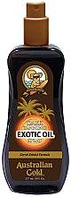 Voňavky, Parfémy, kozmetika Olejový sprej na zosilnenie opaľovania - Australian Gold Dark Tanning Exotic Oil Spray