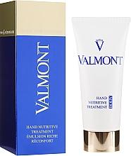 Voňavky, Parfémy, kozmetika Výživný regeneračný krém na ruky - Valmont Hand Nutritive Treatment