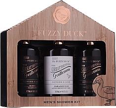 Voňavky, Parfémy, kozmetika Sada - Baylis & Harding Men's Fuzzy Duck Ginger & Lime Lixury Grooming Gift Set (ash/balm/300ml+shm/300ml+sh/gel/300ml)