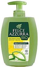 """Voňavky, Parfémy, kozmetika Tekuté mydlo """"Aloe a citrón"""" - Felce Azzurra BIO Aloe Vera & Lemon Liquid Soap"""