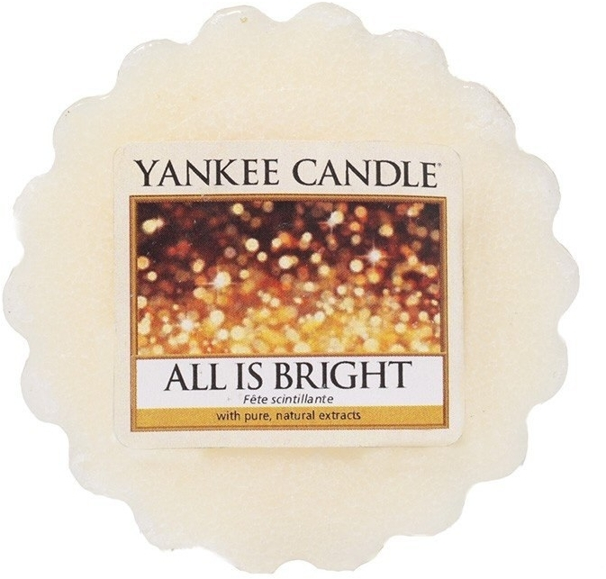 Aromatický vosk - Yankee Candle All is Bright Wax Melts  — Obrázky N1