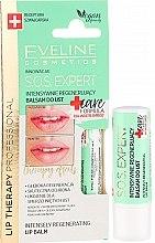 Voňavky, Parfémy, kozmetika Balzam na pery - Eveline Cosmetics Lip Therapy Sos Expert Care Formula Intensely Regenerating Lip Balm