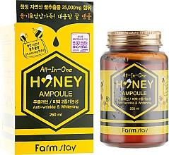 Voňavky, Parfémy, kozmetika Multifunkčné medové sérum na tvár - FarmStay All-In-One Honey Ampoule