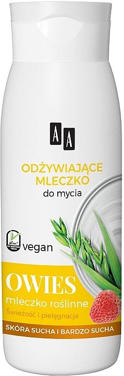 """Sprchové mlieko """"Ovos"""" - AA Vegan Shower Milk"""