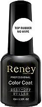 Voňavky, Parfémy, kozmetika Fixátor gélového laku - Reney Cosmetics Top Rubber No Wipe