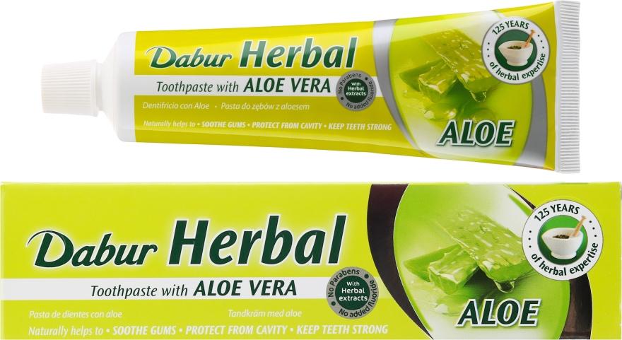 "Zubná pasta ""Aloe Vera"" - Dabur Herbal Aloe Vera Toothpaste"