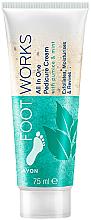 Voňavky, Parfémy, kozmetika Peeling na nohy s mätou - Avon Footworks