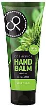 Voňavky, Parfémy, kozmetika Balzam na ruky s extraktom z konopného oleja a bambuckého masla - Cosmepick Hand Balm Hemp Oil&Shea Butter