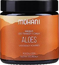 """Voňavky, Parfémy, kozmetika Olej na tvár a telo """"Aloe"""" - Mohani Aloe Vera Rich Batter"""