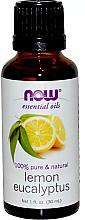 Voňavky, Parfémy, kozmetika Esenciálny olej Citrón, eukalyptus - Now Foods Essential Oils 100% Pure Lemon Eucalyptus