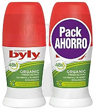 Voňavky, Parfémy, kozmetika Sada - Byly Organic Extra Fresh (deo/2x50ml)