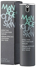 Voňavky, Parfémy, kozmetika Účinné sérum na pokožku okolo očí - Dr. Spiller Manage Your Skin Effective Eye Contour Serum