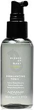 Voňavky, Parfémy, kozmetika Vyvažujúce tonikum na pokožku hlavy - Alfaparf Milano Blends Of Many Rebalancing Tonic