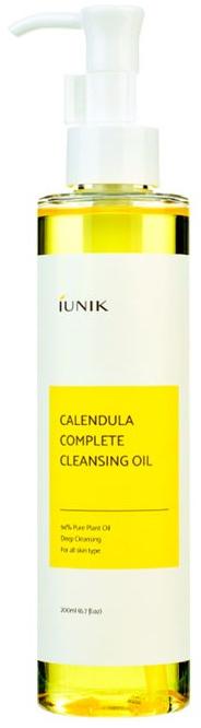 Hydrofilný upokojujúci čistiaci olej s nechtíkom - IUNIK Calendula Complete Cleansing Oil