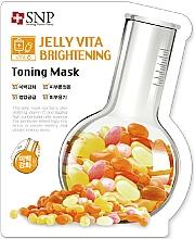 Voňavky, Parfémy, kozmetika Látková pleťová maska s vitamínom C - SNP Jelly Vita Brightening Toning Mask
