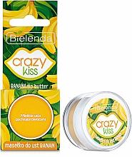 """Voňavky, Parfémy, kozmetika Olej na pery """"Banán"""" - Bielenda Crazy Kiss Banana Lip Butter"""