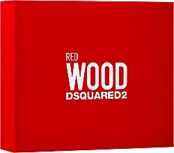 Voňavky, Parfémy, kozmetika Dsquared2 Red Wood - Sada (edt/50ml + sh/gel/50ml + b/lot/50ml)