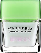Voňavky, Parfémy, kozmetika Denný krémový gél s olejom z čajovníka - Nature of Agiva Roses Acnehelp Jelly Daily Cream