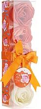 """Voňavky, Parfémy, kozmetika Konfety do kúpeľa """"Orange"""", 5 ks - Spa Moments Bath Confetti Orange"""