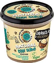 """Voňavky, Parfémy, kozmetika Scrub na telo """"Granola a Makadámia"""" - Planeta Organica Granola & Macadamia Body Scrub"""