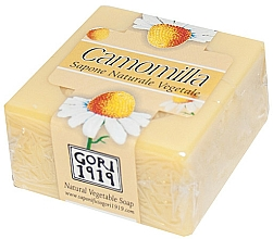 "Voňavky, Parfémy, kozmetika Mydlo ""Harmanček"" - Gori 1919 Chamomile Natural Vegetable Soap"
