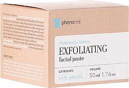 Voňavky, Parfémy, kozmetika Peelingová pasta na tvár - Phenome Exfoliating Facial Pasta