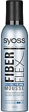 "Voňavky, Parfémy, kozmetika Pena na úpravu vlasov ""Elastický objem"" - Syoss Fiber Flex Flexible Volume Mousse"