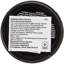 Matná vlasová pasta - Vitality's For Man Working Paste — Obrázky N3