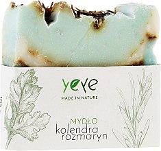 """Voňavky, Parfémy, kozmetika Mydlo 100% prírodné """"Koriander a rozmarín"""" - Yeye Natural Coriander and Rosemary Soap"""