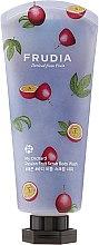Voňavky, Parfémy, kozmetika Peelingový sprchový gél s arómou mučenky - Frudia My Orchard Passion Fruit Scrub Body Wash