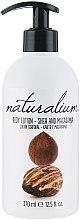 """Voňavky, Parfémy, kozmetika Telový krém výživný """"Ši a Makadamia"""" - Naturalium Body Lotion"""