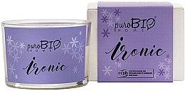 Voňavky, Parfémy, kozmetika Organická sviečka - PuroBio Home Organic Ironic