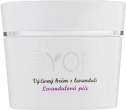 Voňavky, Parfémy, kozmetika Výživný krém s levanduľou - Ryor Lavender Nourishing Face Cream