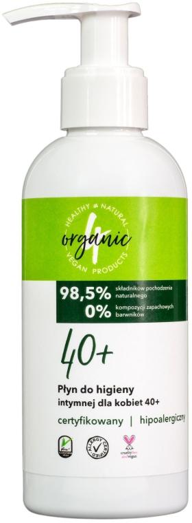 Prostriedok na intímnu hygienu pre ženy od 40 rokov - 4Organic Intimate Gel For Woman 40+