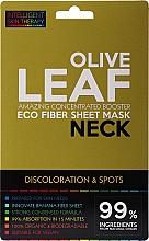 Voňavky, Parfémy, kozmetika Expresná maska na krk - Beauty Face IST Booster Neck Mask Olive Leaf