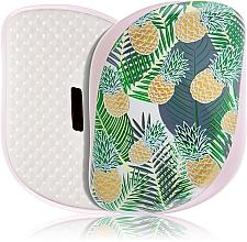 Voňavky, Parfémy, kozmetika Kompaktná kefa na vlasy - Tangle Teezer Compact Styler Brush Palms & Pineapples