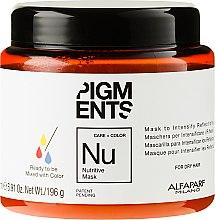 Voňavky, Parfémy, kozmetika Výživná maska pre suché vlasy - Alfaparf Pigments Nutritive Mask