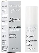Voňavky, Parfémy, kozmetika Sérum na tvár s 2% kyselinou salicylovou - Nacomi Next Level Salicylic Acid 2%